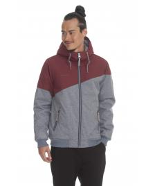 Ragwear Männer Jacke Ragwear Wings wine red