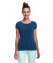 Ragwear Frauen T-Shirt Ragwear Mint Hearts denim blue