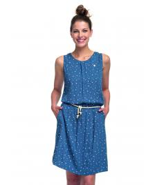 Ragwear Frauen Kleid Ragwear Leona denim blue