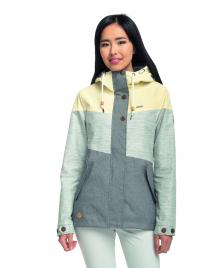 Ragwear Frauen Jacke Ragwear Fancy grey