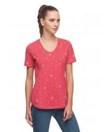 Ragwear Frauen T-Shirt Ragwear Valorah Organic dusty rose