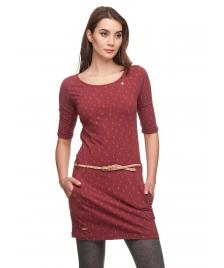 Ragwear Frauen Kleid Ragwear Tanya B wine red
