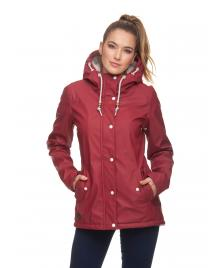 Ragwear Frauen Jacke Ragwear Marge wine red