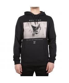 Iriedaily Männer Pullover Iriedaily Neighbourhood Hooded black