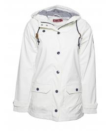Derbe Derbe Regenjacke Peninsula Fisher Jacket white blue striped