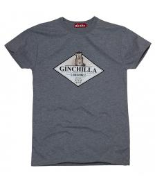 Derbe Männer T-Shirt Derbe Ginchilla grey melange