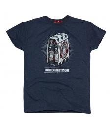 Derbe Männer T-Shirt Derbe Herrenhandtasche reloaded navy melange