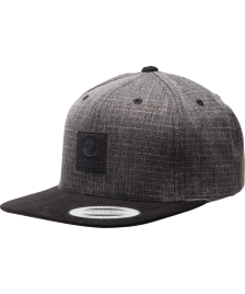 Element Snapback Cap Element State Cap II black grid heather