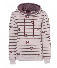Derbe Frauen Pullover Derbe Seemannsbraut Rope wine melange
