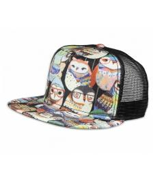 Djinns Djinns Cap Trucker Twisted Snapback Hat multi black