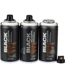 Montana Montana BLACK Sprühdosen POCKET CANS 3 x 150ml Vorratspack - white