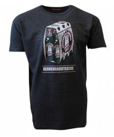 Derbe Männer T-Shirt Derbe Herrenhandtasche reloaded phantom melange