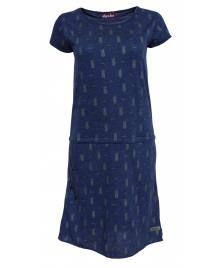 Derbe Frauen Kleid Derbe Pineapple Dress navy melange