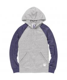 Element Männer Pullover Element Meridian Block Hoodie grey heather