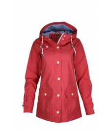Derbe Frauen Jacke Derbe Peninsula Dots rose blue dots