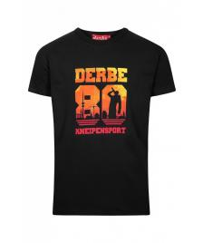 Derbe Männer T-Shirt Derbe Kneipensport black