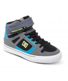 DC Shoes DC Kinderschuhe Youth Spartan High EV black armor turquoise