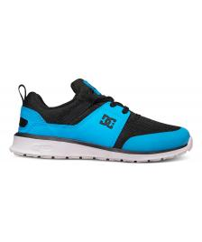 DC Shoes Kinder Schuhe DC Heathrow Prestige black blue
