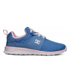 DC Shoes Kinder Schuhe DC Heathrow SP blue white print