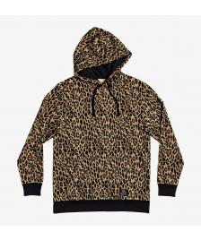 DC Shoes Frauen Kapuzenpullover DC Shoes Roar leopard fade