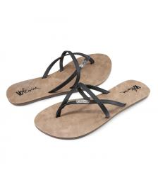 Volcom Frauen Sandalen Volcom All Night Long black