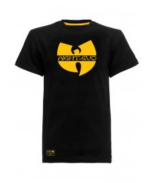 Aight Aight x Wu-Wear T-Shirt Wu Big Logo Tee black yellow