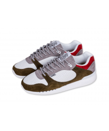 Djinns Schuhe Djinns Easy Run Full Effect atmosphere white olive
