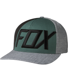 Fox Flexfit Cap Fox Blocked Out heather grey