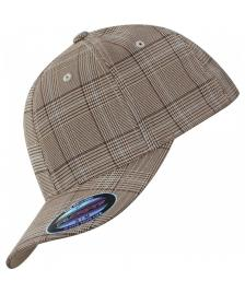 Flexfit Flexfit Cap Glen Check brown khaki
