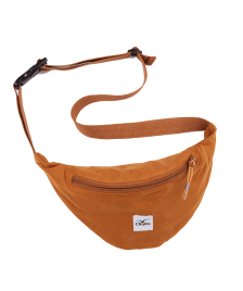 Cleptomanicx Gürteltasche Cleptomanicx Hipbag C.I. Patch spice brown