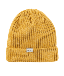 Cleptomanicx Mütze Cleptomanicx Beanie Hafen Bi Color golden yellow