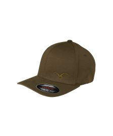 Cleptomanicx Flexfit Cap Cleptomanicx Flex dark olive