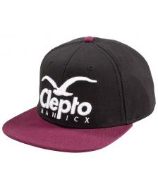 Cleptomanicx Cleptomanicx Cap Accessoires Ball Cap Super CL Snapback Hat pirate black