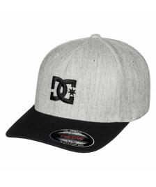DC Shoes Flexfit Cap DC Shoes Cap Star 2 light grey heather