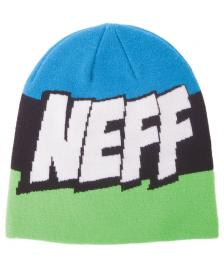 Neff Neff Mütze Cartoon Beanie slime black cyan