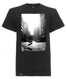 Aight Aight T-Shirt City Suede Foto Tee black