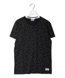 Space Monkeys Space Monkeys T-Shirt Constellation All Over Crew Neck Tee allover black