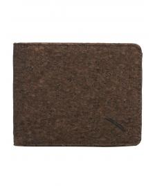 Iriedaily Geldbeutel Iriedaily Cork Flag Wallet dark brown