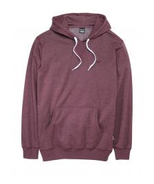 Cleptomanicx Männer Pullover Cleptomanicx Hooded Ligull 2 heather tawny port