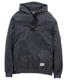 Cleptomanicx Cleptomanicx Kapuzenpullover Men Hooded Möwe heather black