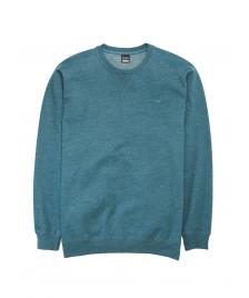 Cleptomanicx Männer Pullover Cleptomanicx Crewneck Ligull 2 heather deep teal