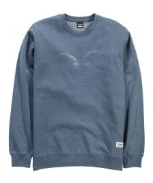 Cleptomanicx Cleptomanicx Pullover Men Crewneck Möwe heather blue