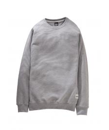 Cleptomanicx Männer Pullover Cleptomanicx Crewneck Parson heather gray