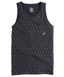 Cleptomanicx Cleptomanicx Men Tank Top Ships dark navy