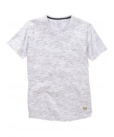 Cleptomanicx Cleptomanicx T-Shirt Men Scoop Neck Tee Sparkle white