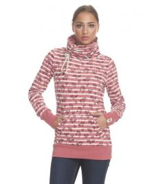 Ragwear Frauen Pullover Ragwear Dalva dusty red