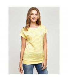 Mazine Frauen T-Shirt Mazine Derry T sun / stripes