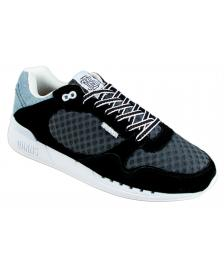 Djinns Djinns Schuhe EasyRun Mesh And Denim Unisex Shoes black