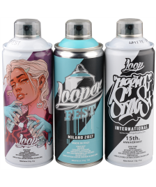 Loop Sprühdosen Set Loop Colors limited Artists Edition 3x400ml