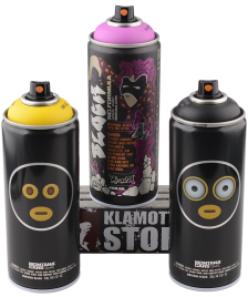 Montana Sprühdosen Montana Black limited Artist Edition graffiti rain 3x400ml